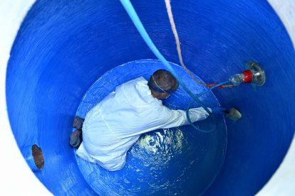 Sanierung und Abdichtung von Ölabscheider