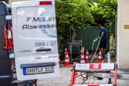 Inlinersanierung und Roboterfräsung in München